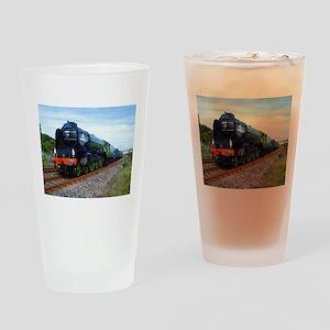 Flying Scotsman - Steam Train Drinking Glass