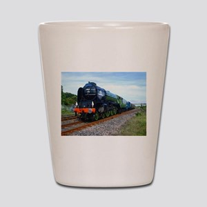 Flying Scotsman - Steam Train Shot Glass