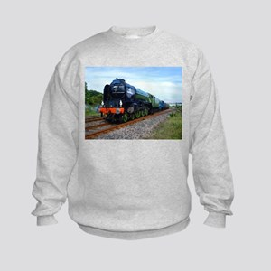 Flying Scotsman - Steam Train Kids Sweatshirt