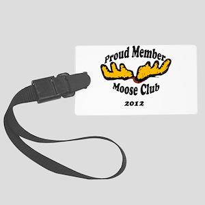 moose club Large Luggage Tag
