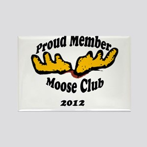 moose club Rectangle Magnet