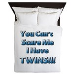 You cant scare me 1 Queen Duvet