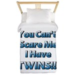 You cant scare me 1 Twin Duvet