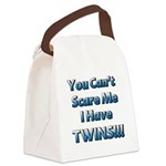 You cant scare me 1 Canvas Lunch Bag
