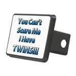 You cant scare me 1 Rectangular Hitch Cover