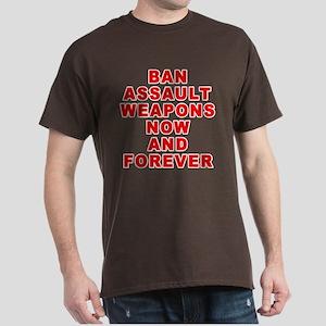BAN ASSAULT WEAPONS FOREVER Dark T-Shirt
