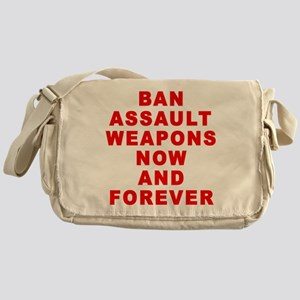 BAN ASSAULT WEAPONS FOREVER Messenger Bag
