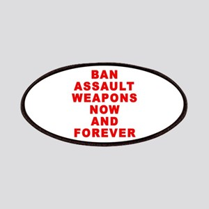 BAN ASSAULT WEAPONS FOREVER Patches