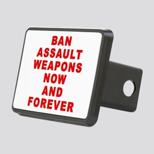 BAN ASSAULT WEAPONS FOREVER Rectangular Hitch Cove