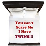 You cant scare me 2 King Duvet