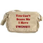 You cant scare me 2 Messenger Bag