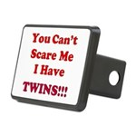 You cant scare me 2 Rectangular Hitch Cover