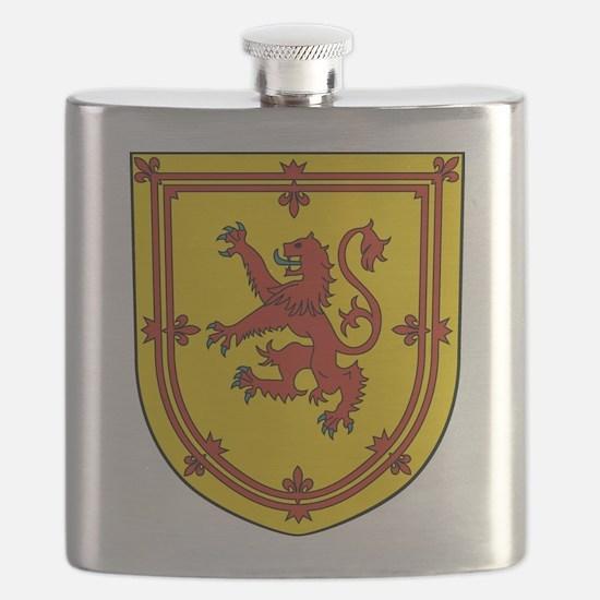 Royal Arms of Scotland Flask