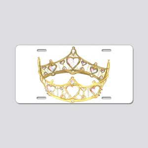 crown with hearts, centered, by Kristie Hubler Alu