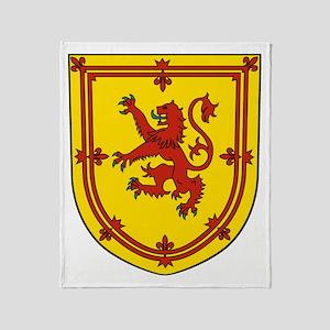 Royal Arms of Scotland Throw Blanket