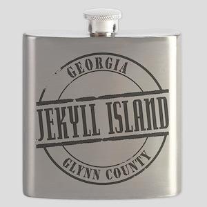 Jekyll Island Title Flask