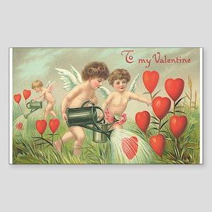 To my Valentine Sticker (Rectangle)