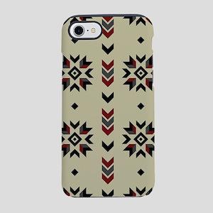 Native American Indian geometr iPhone 7 Tough Case