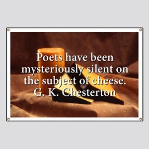 Poets Have Been Mysteriously Quiet - G K Chesterto