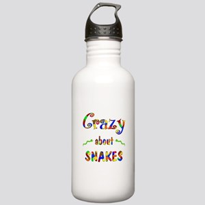 Crazy About Snakes Stainless Water Bottle 1.0L