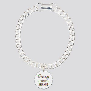 Crazy About Snakes Charm Bracelet, One Charm