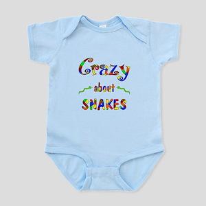 Crazy About Snakes Infant Bodysuit