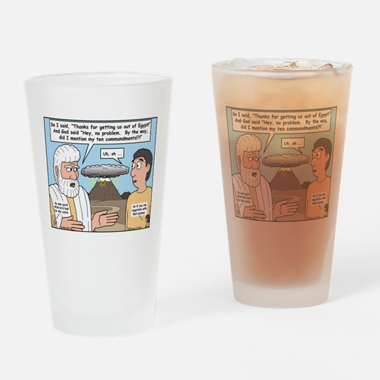The Fine Print Drinking Glass