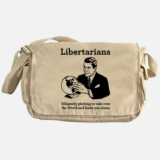The Libertarian Plot Messenger Bag