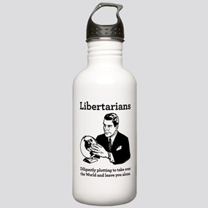 The Libertarian Plot Stainless Water Bottle 1.0L