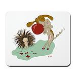 Can't Let Down Porcupine | Mousepad