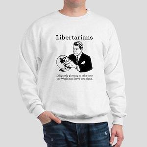The Libertarian Plot Sweatshirt