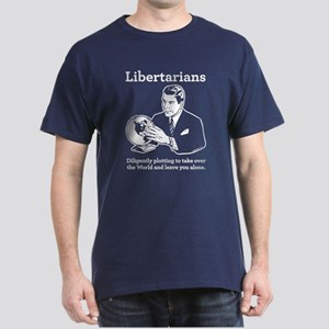 The Libertarian Plot Dark T-Shirt