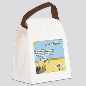 Men and Directions Canvas Lunch Bag