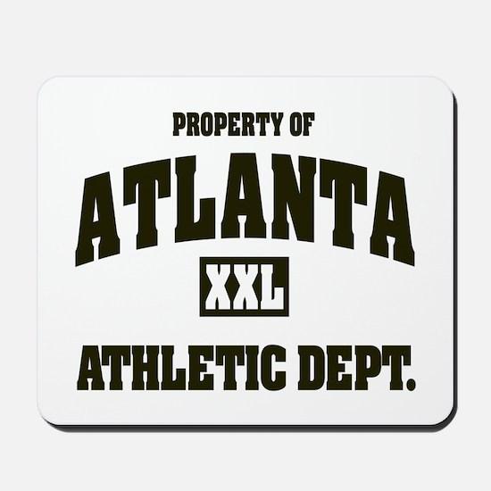 Property of Atlanta Athletic Dept. Mousepad