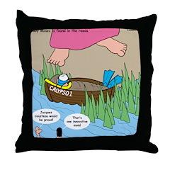 Calypso Moses Throw Pillow