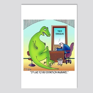 Extinction Insurance Postcards (Package of 8)