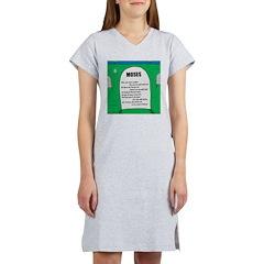 Moses Tombstone Women's Nightshirt