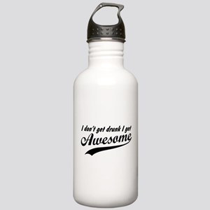 I Get Awesome Stainless Water Bottle 1.0L