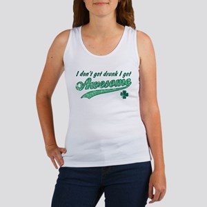 Vintage I Get Awesome Women's Tank Top