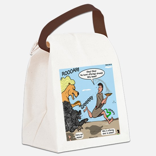 Burnt Offering Problems Canvas Lunch Bag