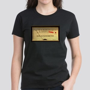 Attitude VU Meter Women's Dark T-Shirt