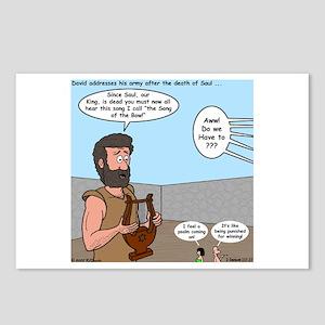 David's Saul Dirge Postcards (Package of 8)