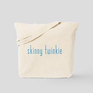 Skinny Twinkie (Blue) Tote Bag