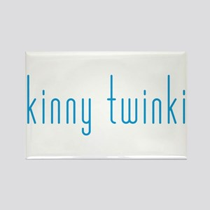 Skinny Twinkie (Blue) Rectangle Magnet