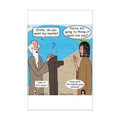 Elijah and Elisha Mantle II Posters