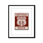 Helendale Route 66 Framed Panel Print