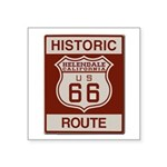 Helendale Route 66 Square Sticker 3