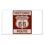 Helendale Route 66 Sticker (Rectangle 50 pk)
