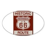 Helendale Route 66 Sticker (Oval)