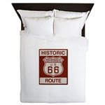 Helendale Route 66 Queen Duvet